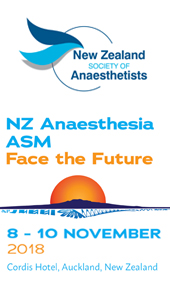 NZ Anaesthesia Meeting 2018