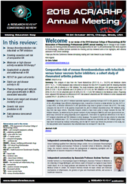 Rheumatology Research Review NZ Free Update | ACR-ARHP 2018
