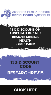 Aus Rural and Remote Mental Health ad Aug