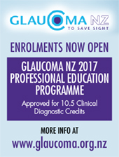 Glaucoma NZ Professional Education Programme 2017