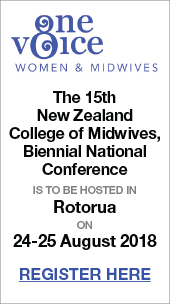 NZ College of Midwives Conference 2018